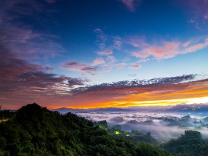 Postal: Nubes y niebla