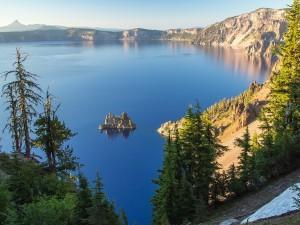 La quietud de un lago