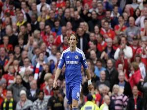 Postal: Fernando Torres, delantero del Chelsea F.C.
