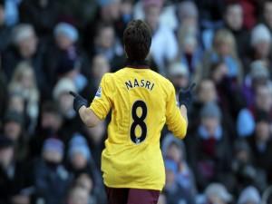 Samir Nasri (con el Arsenal)
