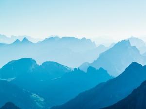 Postal: Montañas