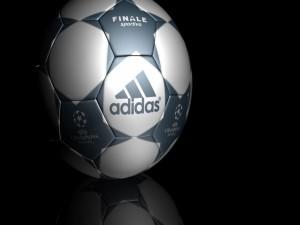 Postal: Balón Adidas