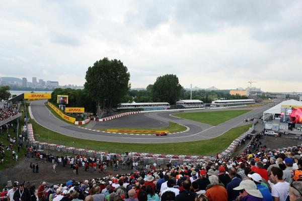 Circuito de F1 en Canadá