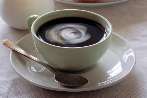 Café en una taza