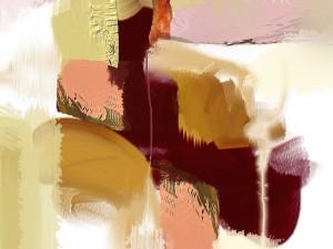 Postal: Textura de varios colores