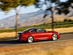 BMW Coupé rojo