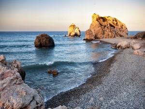 Postal: Roca de Afrodita