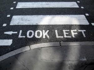 Mirar a la izquierda