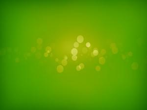 Postal: Círculos verdes