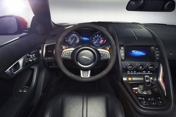 El interior de un Jaguar