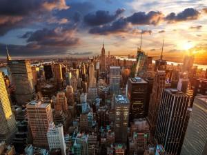 Postal: Edificios de la ciudad de Nueva York