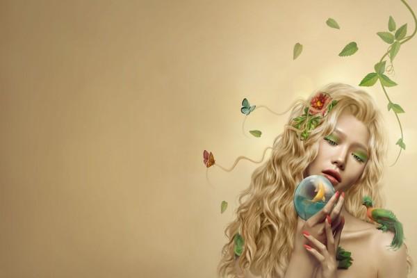 Mujer naturaleza