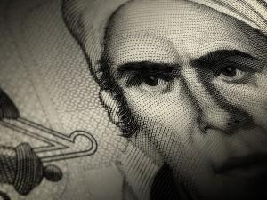 Postal: Billete de 50 pesos mexicanos