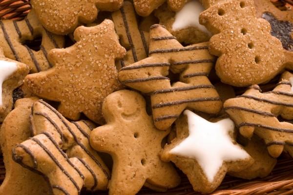 Galletas de Navidad con jengibre y canela
