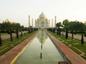 Postal: Taj Mahal