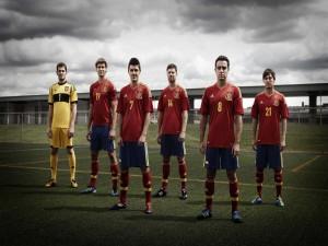 Jugadores de la Selección Española de Fútbol