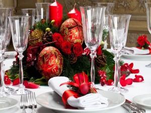 Mesa para los días festivos