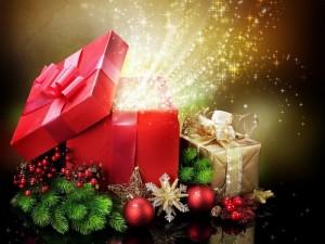 Cajas de regalo para festejar las fiestas
