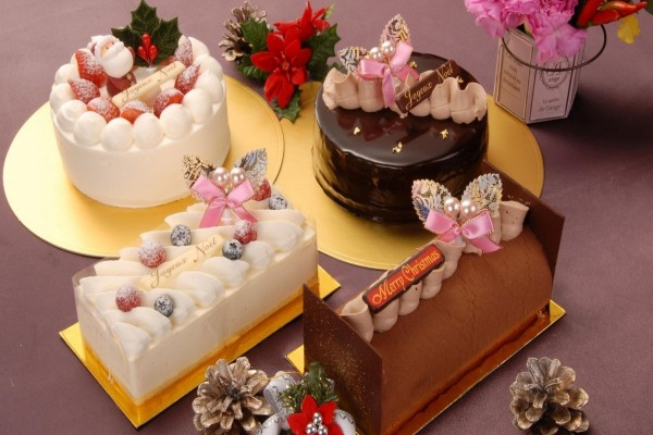 Dulces y pasteles para Navidad