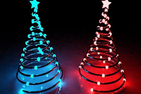 Árboles en 3D para las próximas fiestas