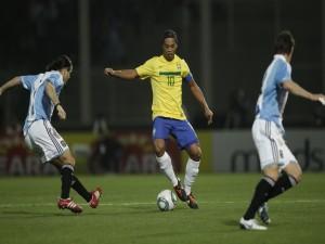 Ronaldinho, número 10 de Brasil