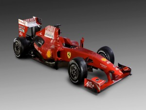 Postal: Ferrari Fórmula 1