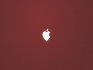 Postal: Apple corazón
