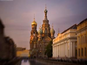 Iglesia del Salvador sobre la sangre derramada, en San Petersburgo