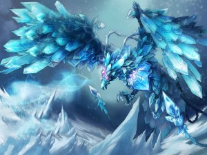 "Postal: Anivia, The Cryophoenix ""League of Legends"""