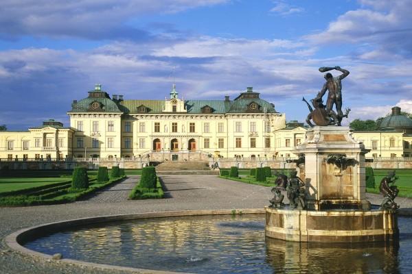 Palacio de Drottningholm, Suecia