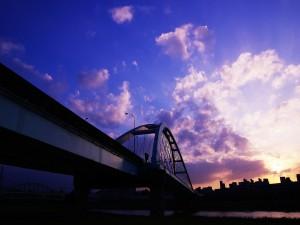 Postal: MacArthur Bridge (Taipei)