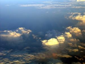 Postal: Con el cielo debajo nuestro