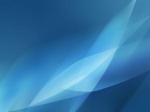 Postal: Tonos de azul