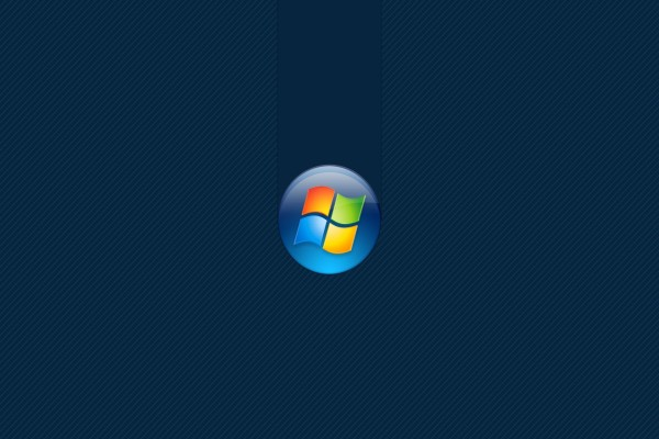 Logo de Windows sobre un fondo azul