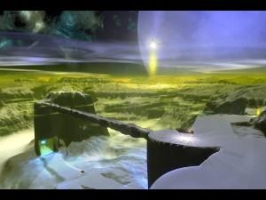 Un paisaje de otro planeta