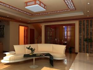 Una sala elegante