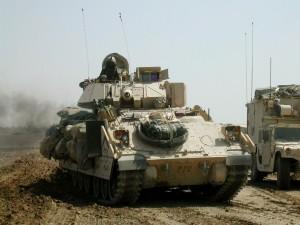 Postal: Tanques de Estados Unidos en Irak