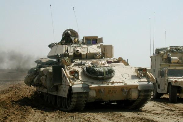 Tanques de Estados Unidos en Irak