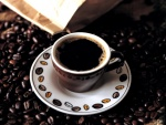 Una tacita de café puro