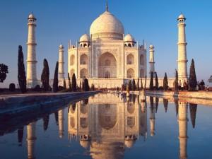 Una vista espléndida del Taj Mahal