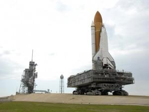 Transportando el Transbordador Espacial