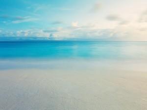 Playa azul