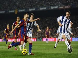 F.C. Barcelona contra la Real Sociedad