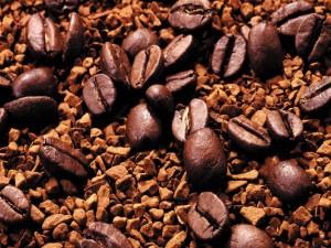 Postal: Granos de café