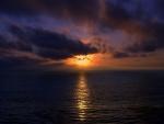 Una nube tapando al sol