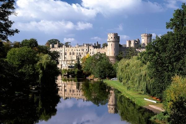 Castillo de Warwick, Inglaterra