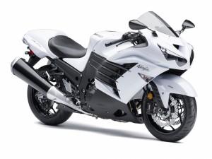 Kawasaki Ninja blanca