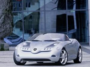 Postal: Mercedes-Benz Vision SLA