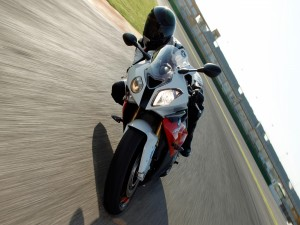 BMW S 1000 RR, en movimiento