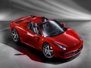 Postal: Ferrari 458 Italia Spider